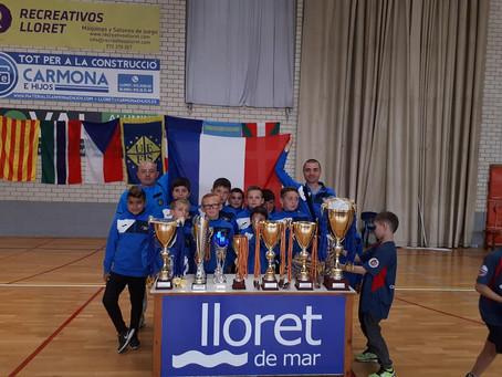 Nos U11 Champion d'Europe.  Les félicitations de Mme Valerie Gomez-Bassac, Députée de la 6ème Cir.