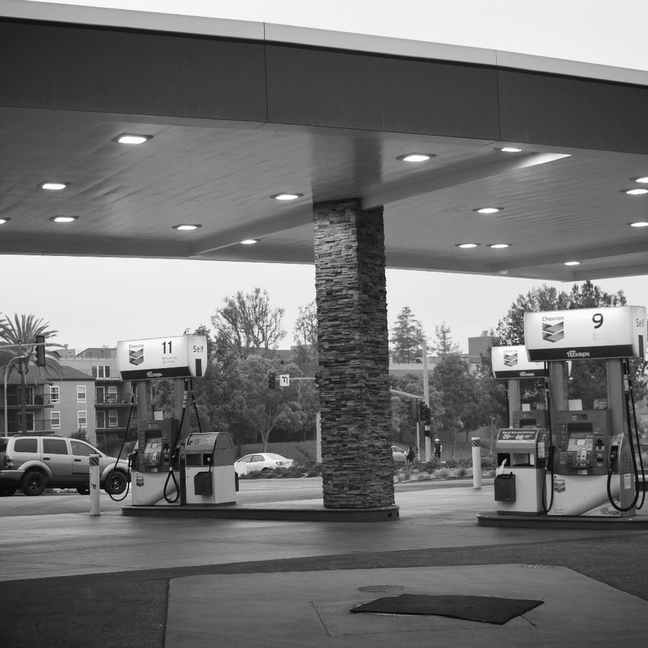 Chevron Service Station Convenience Store
