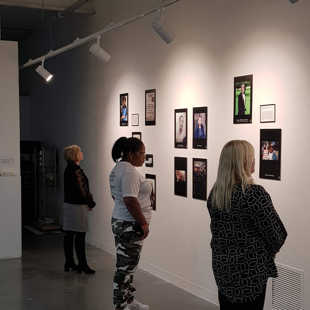 The preview of The Wake-Up Room.  Way Out East Gallery - The University of East London, 12.03.2020.