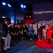 Lisa Burke hosting TEDx Luxembourg City
