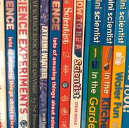 Science books by Lisa Burke