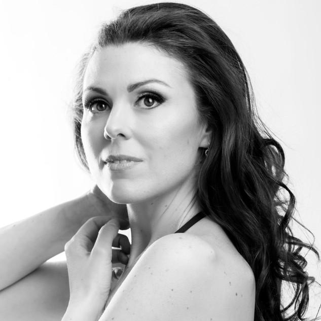 Lisa Toni Burke black and white headshot