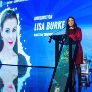 Lisa Burke hosting event in Luxembourg