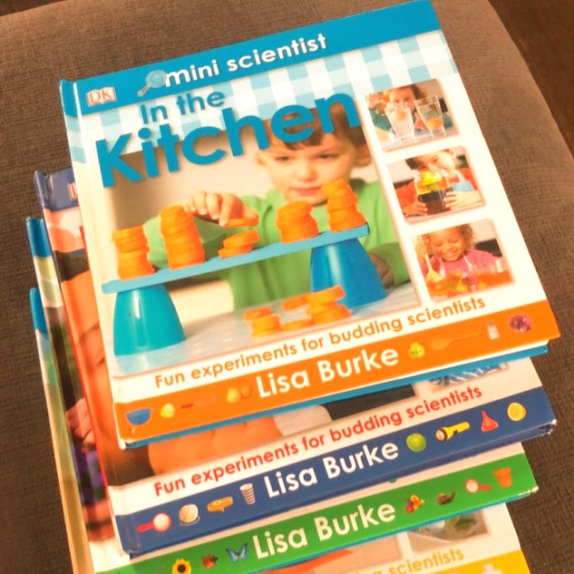 Mini Scientist series by Lisa Burke