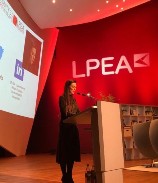 Lisa Burke hosting LPEA event