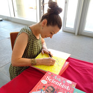'Ask A Scientist' book signing