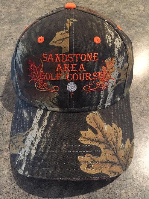 Sandstone Area Golf Course Camo Hat