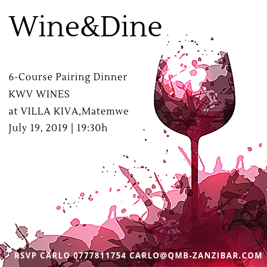 6 COURSE PAIRING DINNER AT VILLA KIWA PRESENTED BY KWV  WINEMAKER AND SALES EXECUTIVES