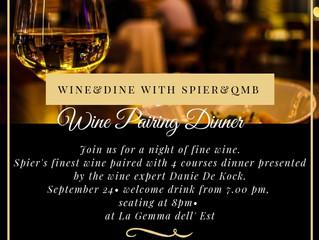 Spier Wine&Dine - September 2018