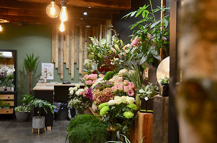 fleuriste moderne et végétal sur pont-péan