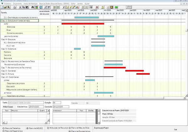 software para a construção