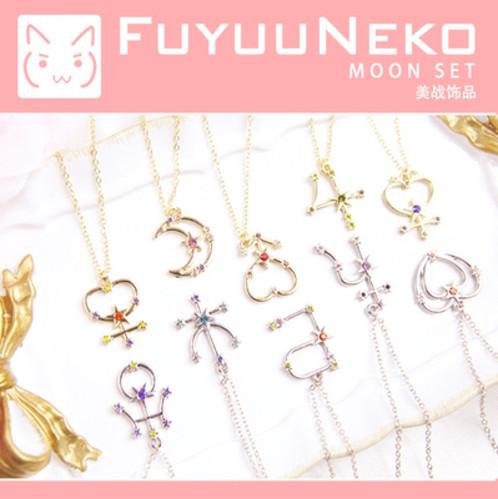 Sailor Moon Symbol Necklace Japanese Iphone Case Shibanu