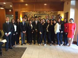 Delegación dominicana en Yale