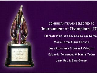 Los mejores equipos dominicanos al Tournament of Champions