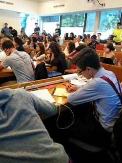 Durante Torneo en Yale