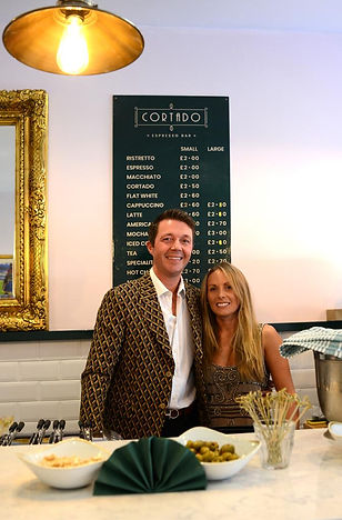 Cortado Coffee Bar Newmarket_Eva and Ric