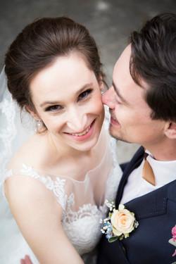 Braut und Ehemann