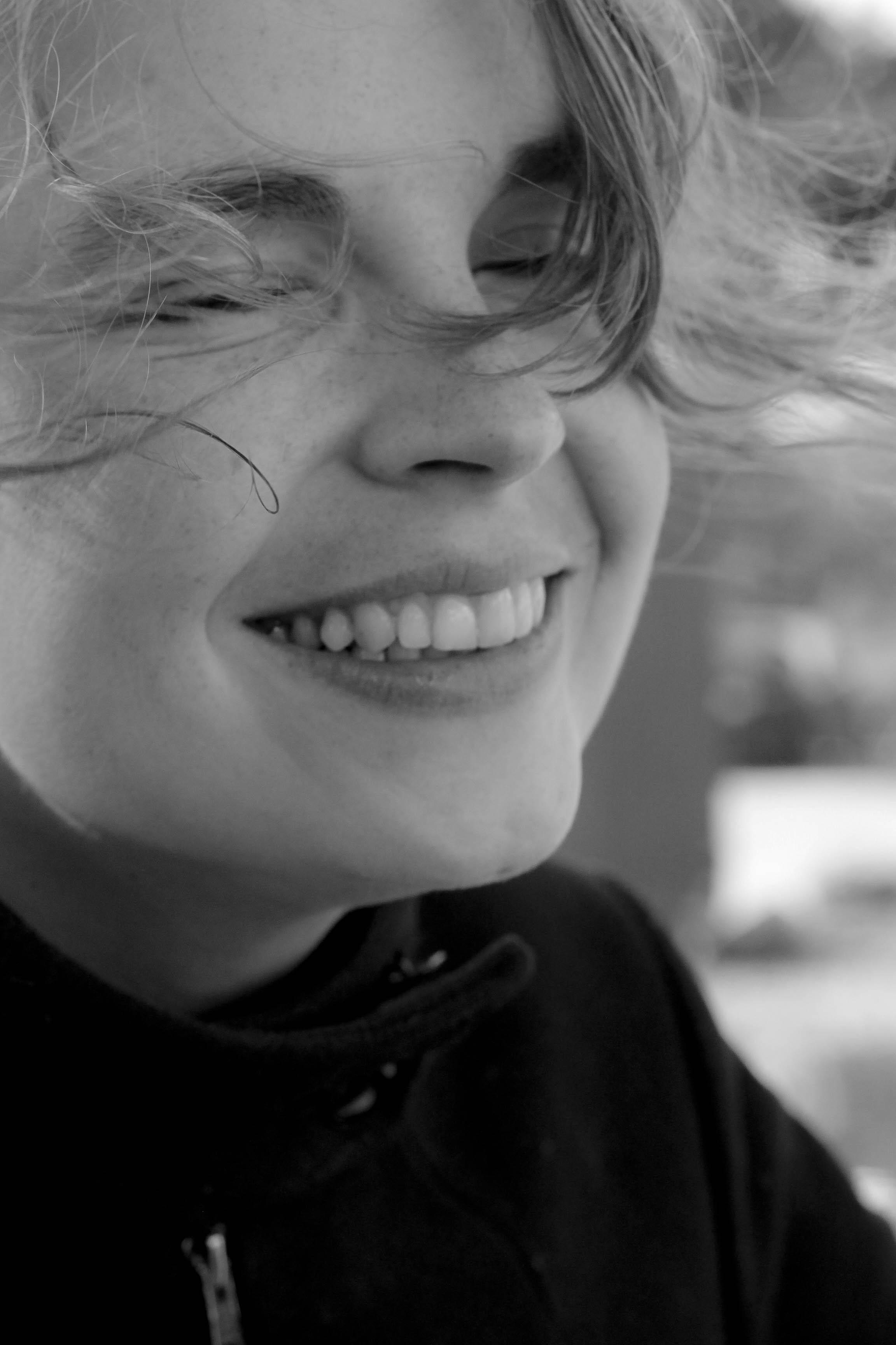 Lächelnden Frau