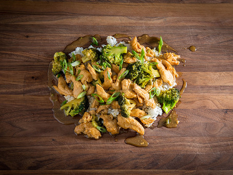 CHICKEN WITH BROCCOLI IN A BROWN SAUCE   CHINESE TAKE OUT AT HOME