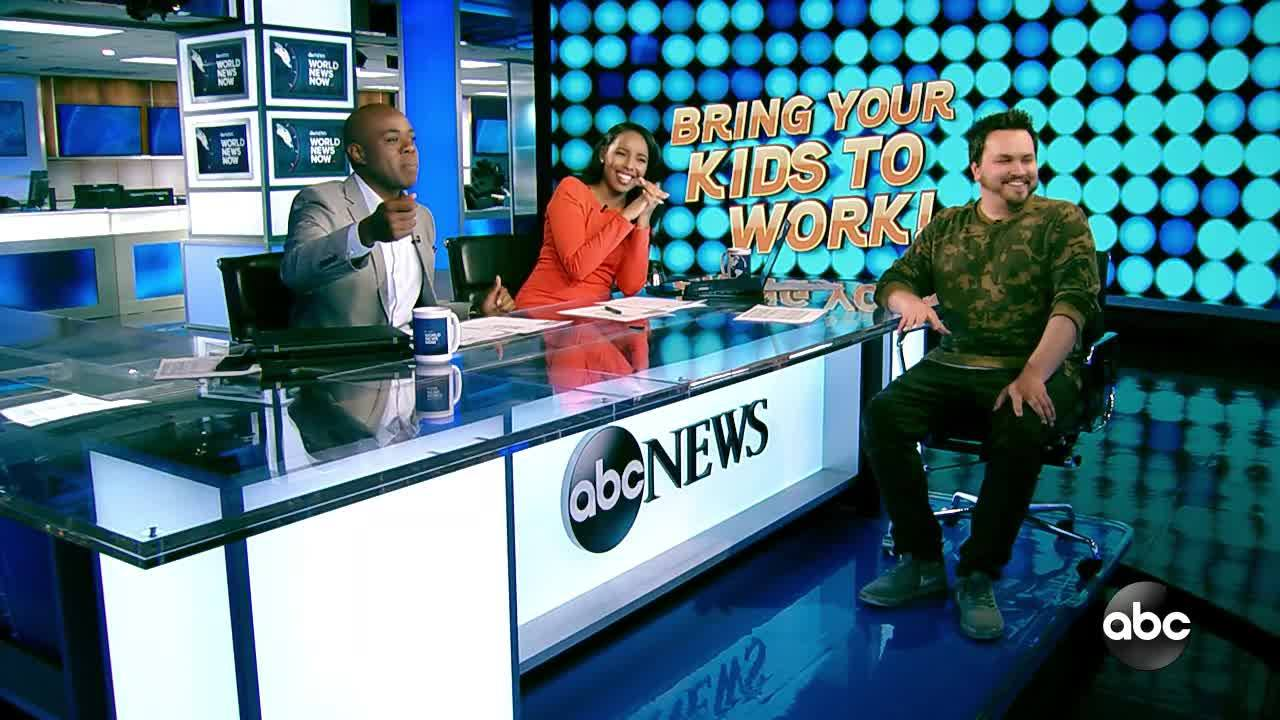 COOKING WITH THE KIDS | ABC NEWS APRIL 25, 2019