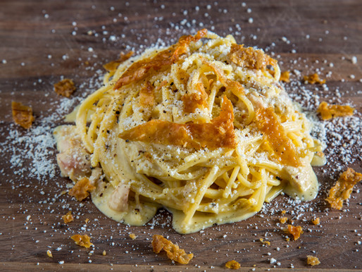 how to make SPAGHETTI CARBONARA from LEFTOVER THANKSGIVING TURKEY
