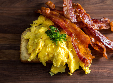 PERFECT BACON AND SCRAMBLED EGGS