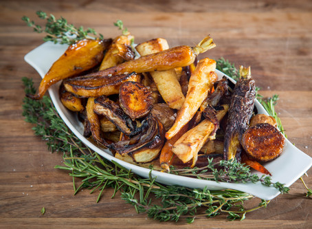 how to make PERFECT ROASTED ROOT VEGETABLES