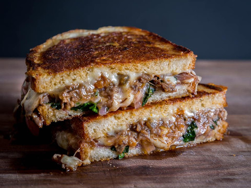 SHORT RIB GRILLED CHEESE   The MOST IMPORTANT SANDWICH of my life