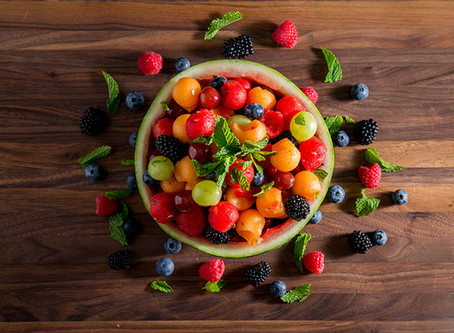 FRESH FRUIT BALL SALAD