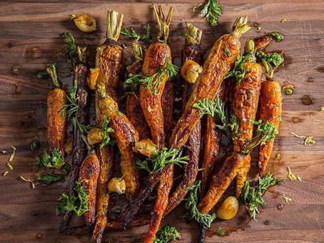 CARAMELIZED OVEN ROASTED CARROTS