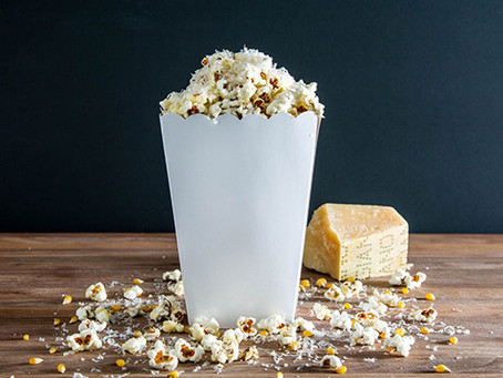 HOMEMADE PARMESAN POPCORN | OSCARS PARTY sNACkS