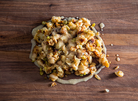 GERMAN THANKSGIVING STUFFING | FAMILY HOLIDAY RECIPES WITH MOM