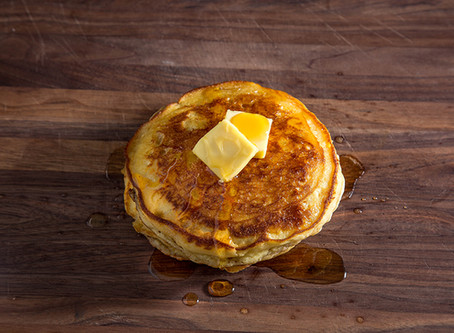 SOUR CREAM PANCAKES | A RIFF ON JAMES BEARD'S RECIPE