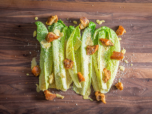 THE ORIGINAL CAESAR SALAD RECIPE
