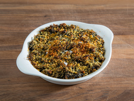 GRANDMA'S BAKED BRAISED KALE | the GREATEST KALE RECIPE you've never had