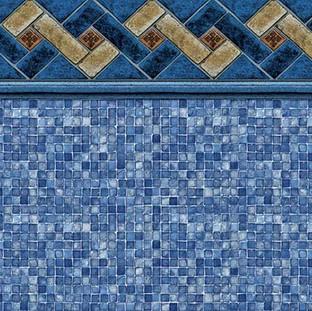 Mountain Top Blue Mosaic
