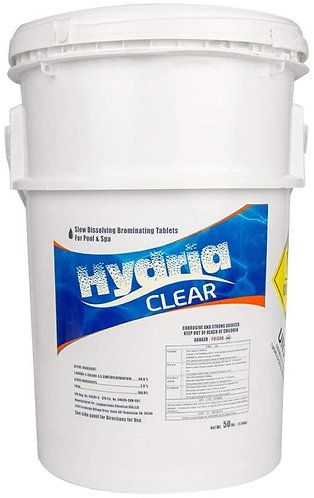 Hydria Clear 50 LB Bromine Tablets