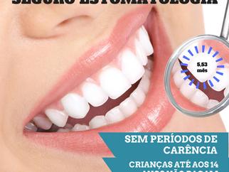 SEGURO DE ESTOMATOLOGIA SEM PERÍODOS DE CARÊNCIA