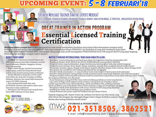 Great Trainer in Action (MWS-ELT certification)