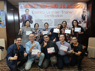 """GREAT TRAINER IN ACTION"" MWS International-Indonesia, 3-6 Februari 2020, Hotel Santika Premiere Sli"