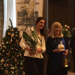 Bencze Ilona védnök Kinback Szilvia elnökasszonyunkkal