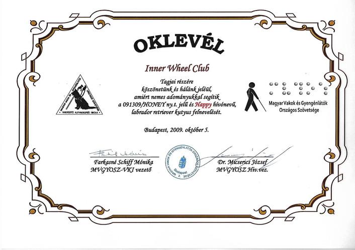 Happy Certificate