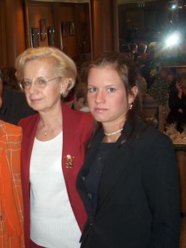 Anya és lánya - dr. Tornyai Magdolna és Serényi Márti