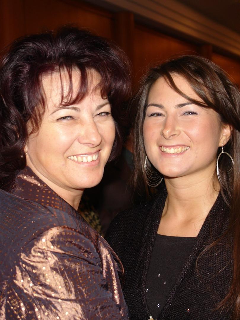 Anya és lánya - Elivra és Sziszi