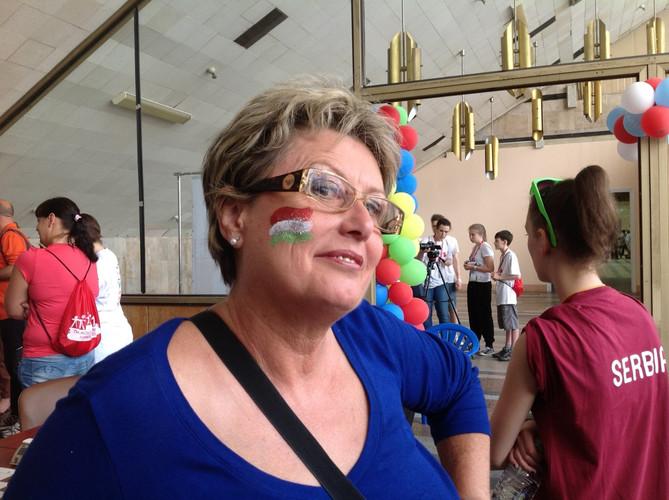 Szepesházyné Czakó Rita klubtagunk kísérőként is támogatta a versenyzőket