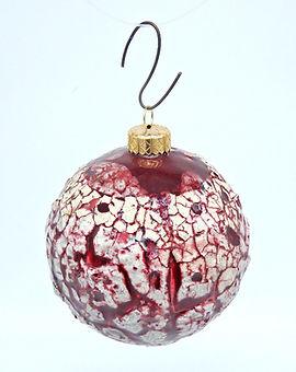 palla di natale ceramica articolo da regalo artigianato