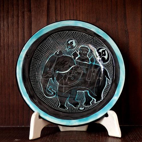 """Ciotola """"Buddha e l'elefante"""""""