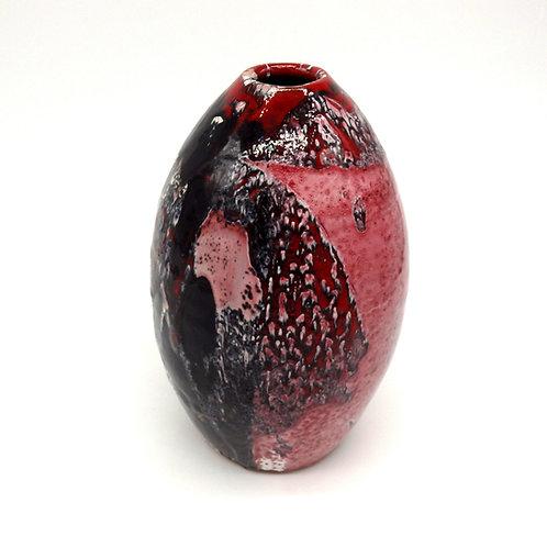 "Vaso a uovo ""Black Cherry"""