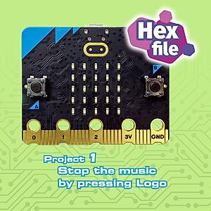 micro:bit-V2 Project1 Speaker