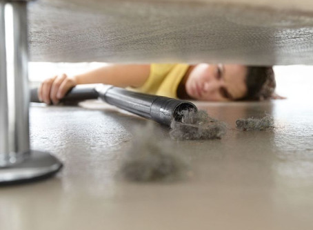 4 easy places to overlook when you're cleaning
